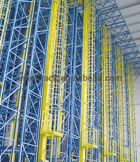 Professional Experienced Automatic Retrieval Assembly Line For ASRS Racking System