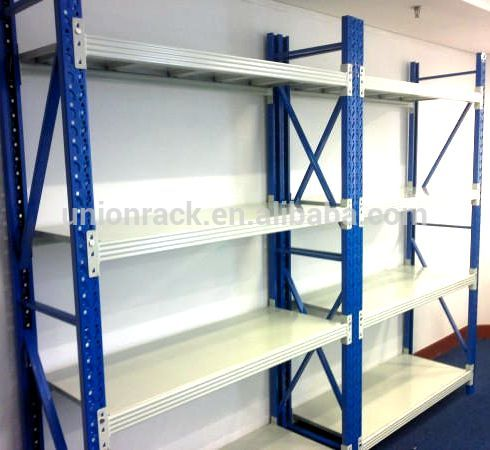 Industrial Warehouse Multi-Level Steel Corrosion Prevention Longspan Shelving