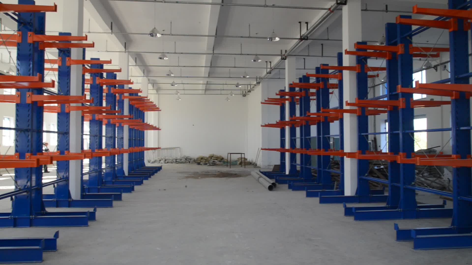Customized Stable Durable Heavy Duty Warehouse Storage Pipe Rack System