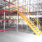 Steel boltless shelving warehouse mezzanine