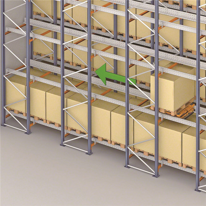 Jiangsu Union warehouse storage AGV shelving system
