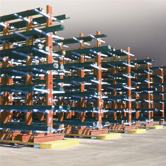 Customized Steel Arm Storage Cantilever Rack For Warehouse Storage
