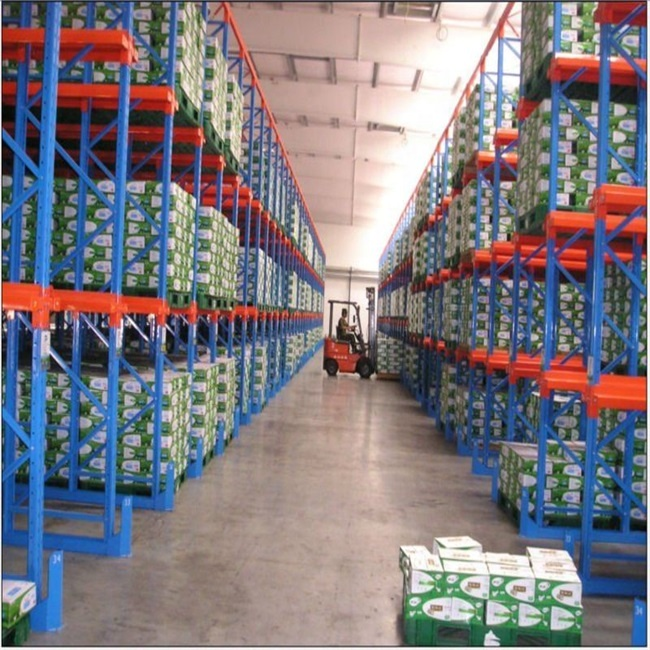 High Quality Q235 Steel FIFO Drive In Pallet Rack