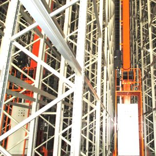 Single Deep Light Duty Stacker Crane ASRS Automatic Storage and Retrieval System