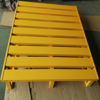 Warehouse Logistics Equiment 2 Entry Way Customized Steel Pallet