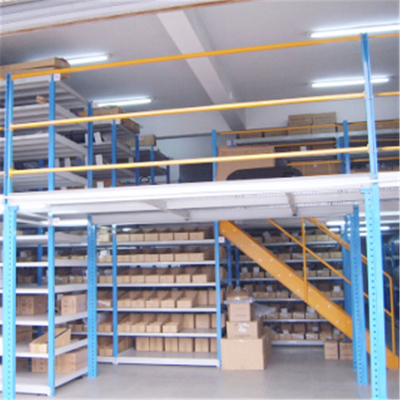 China Nanjing Union Supplier Space Saving Steel Platform Mezzanine Racking
