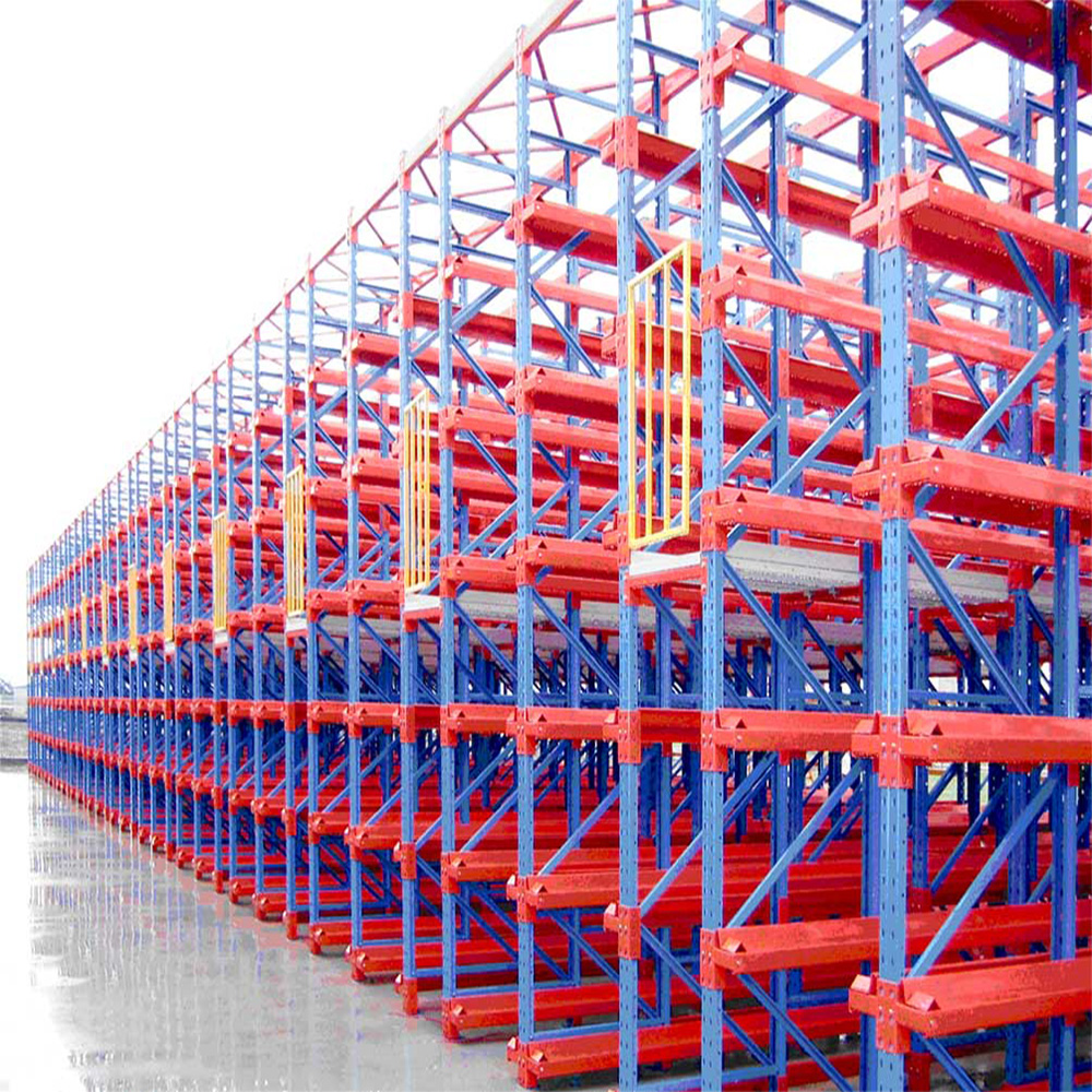 Warehouse Storage Heavy Duty Metal Logistic Equipment Drive In Racking