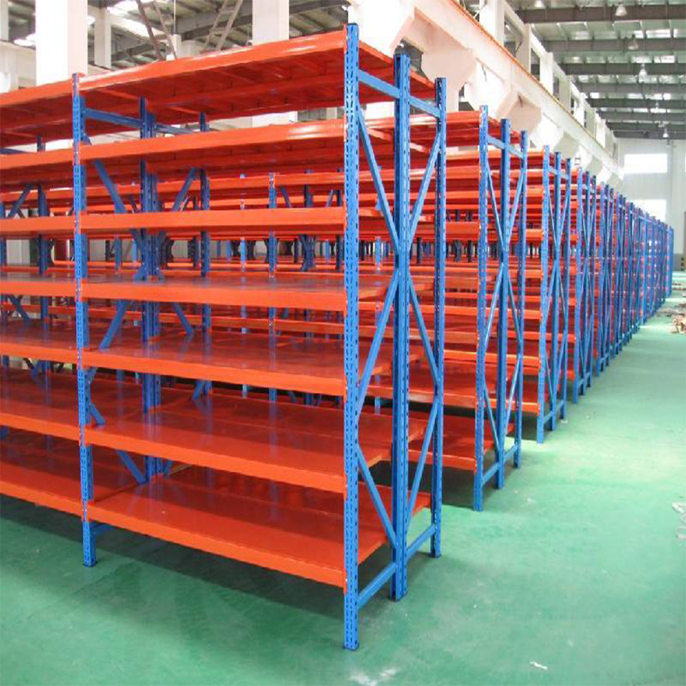 Medium duty long span shelving rack with high quality