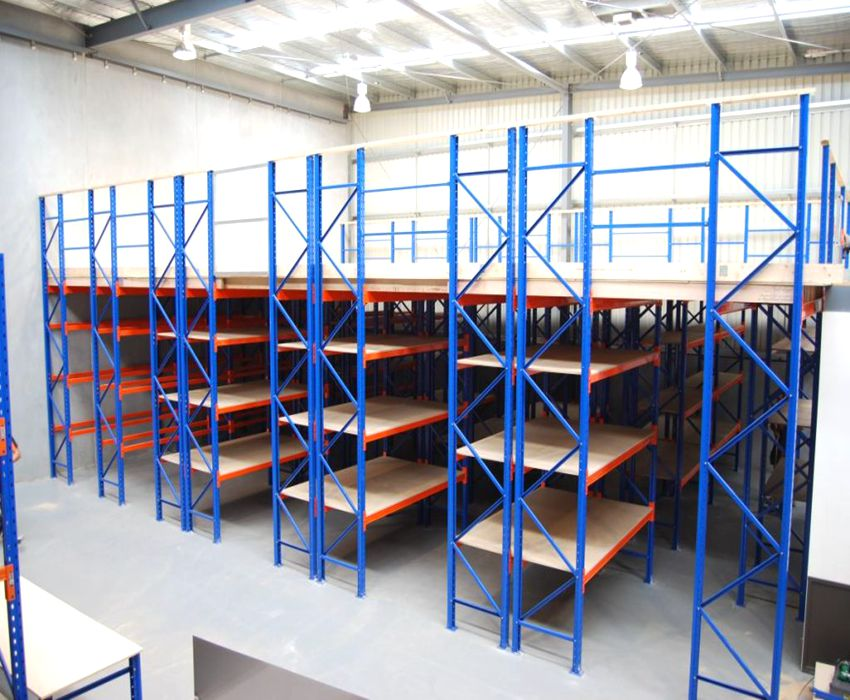 Steel Structure Mezzanine Racking