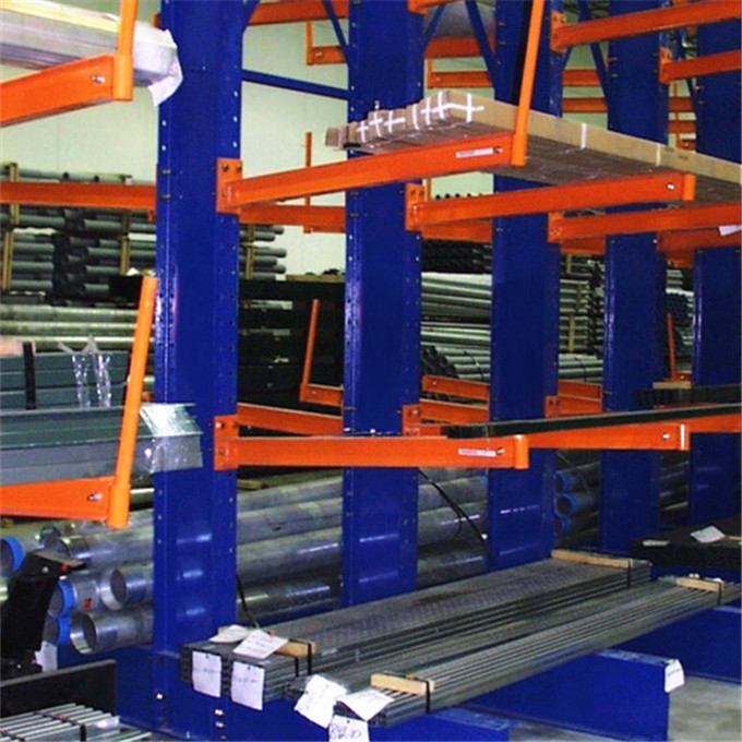 Economical Heavy Duty Pipe Cantilever Racking For Storage