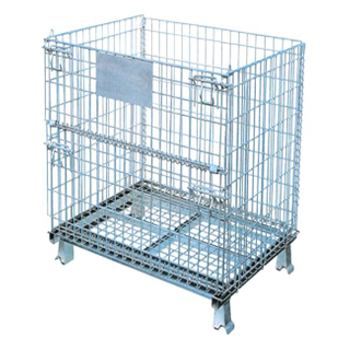 JiangSu Union Stackable Metal Durable High Usable Space Wire Mesh Box