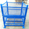 Demountable and stackable steel wire mesh container