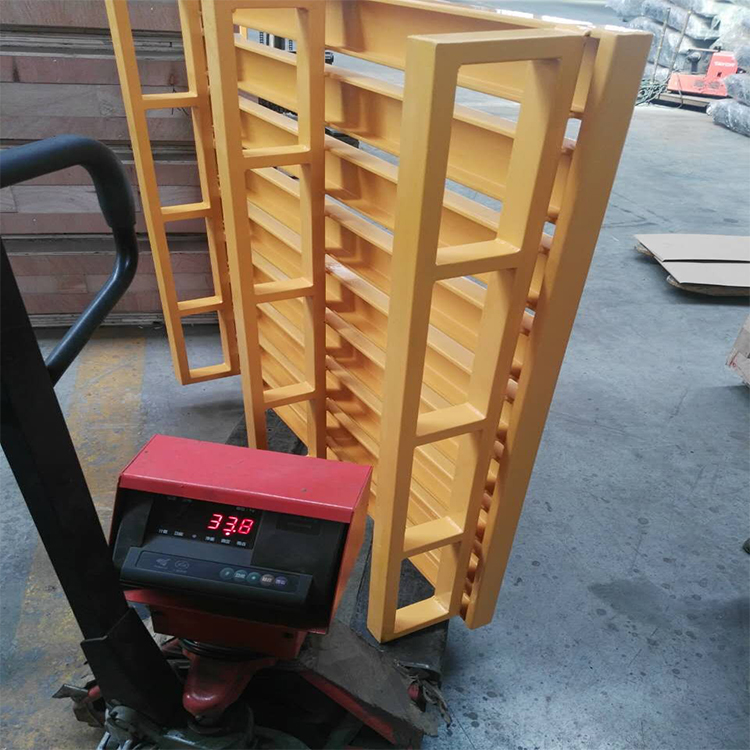 Powader Coating 4 Entry Way Customized Metal Pallet