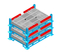Union Metal Foldable Cage Pallets