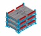Jiangsu Union Adjustable Customized Stackable Steel Pallet