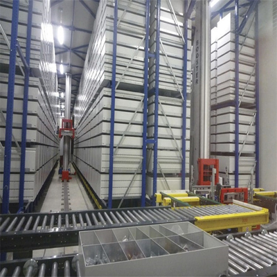 Light Duty Single Deep Stacker Crane ASRS Racking System