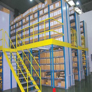Warehouse Economical Metal Grating Mezzanine Rack