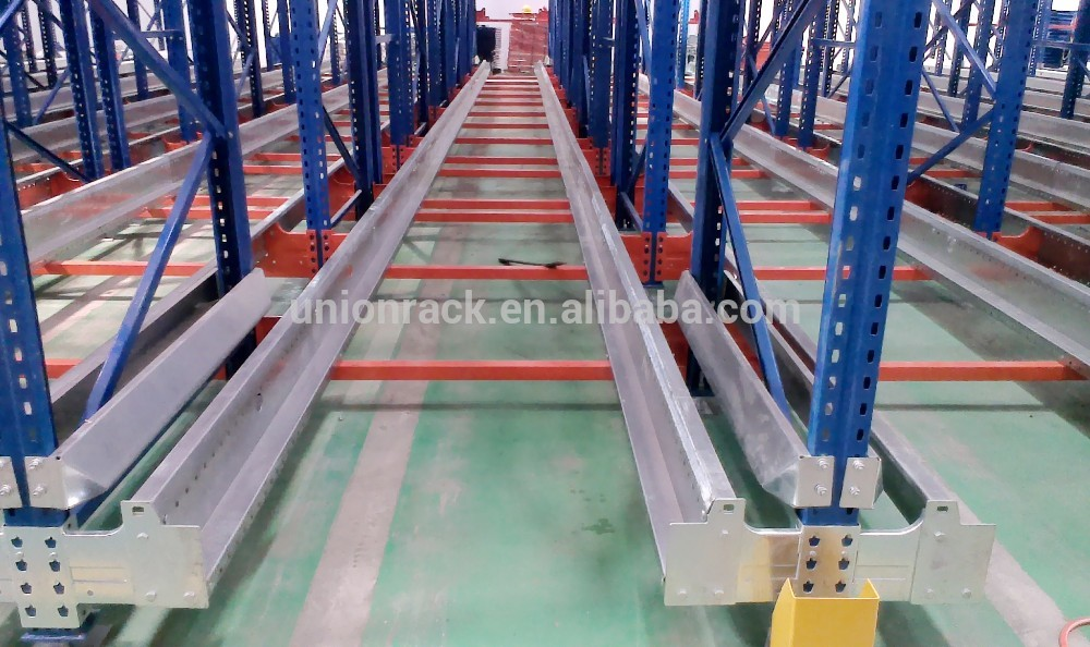 Automated Warehouse Pallet Radio Shuttle Racking System
