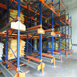 High Efficiency Warehouse Storage Metal Industrial Radio Pallet Shuttle Rack