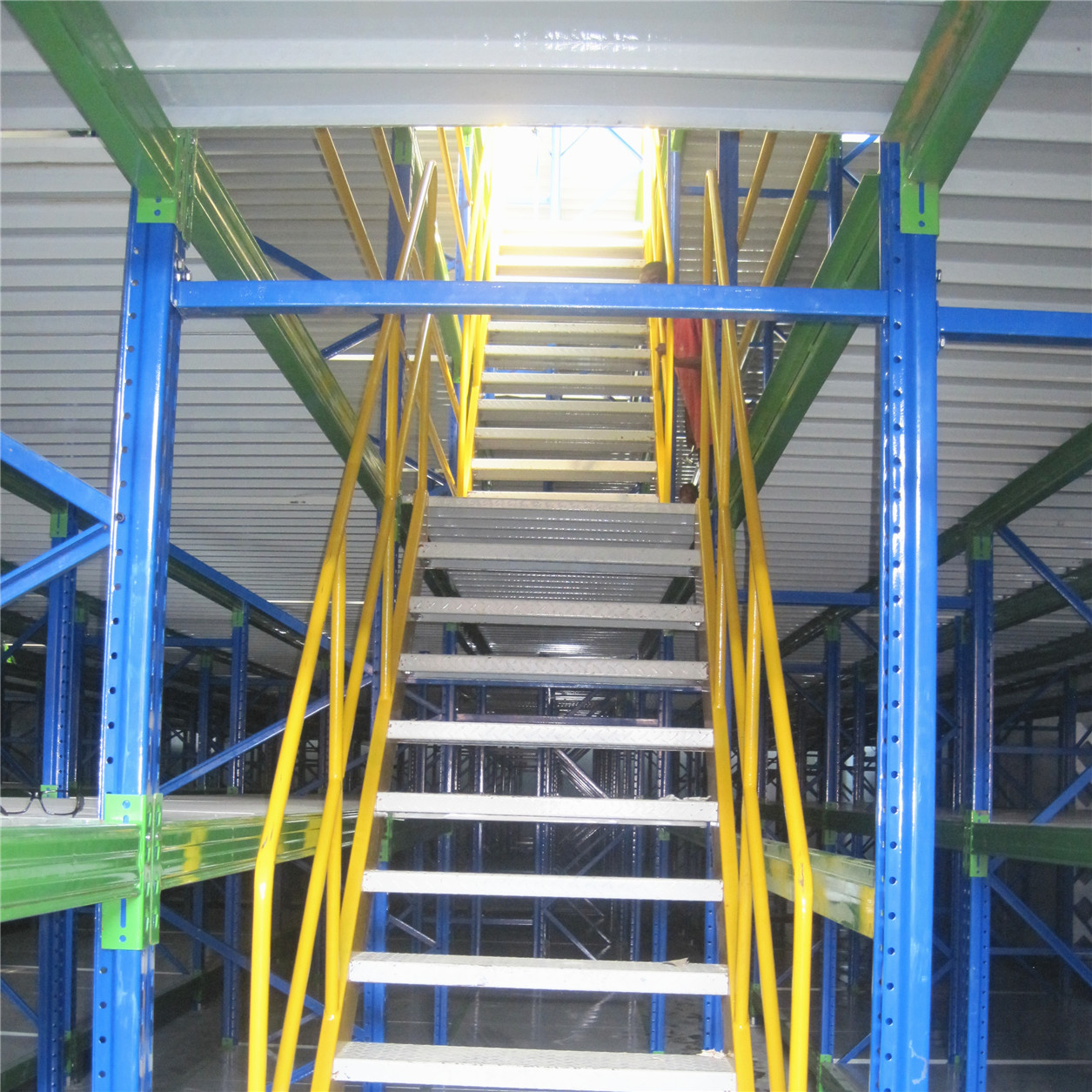 Customized Heavy Duty Multi Level Metal Decking Mezzanine Rack