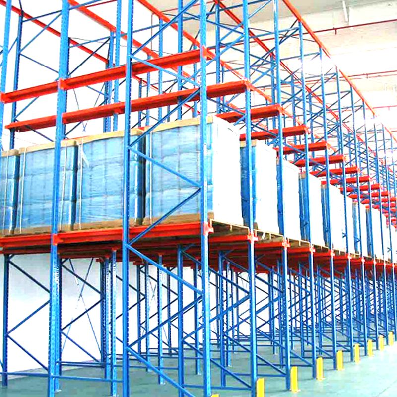 Rust Protection High Capacity Heavy Duty Drive-in Rack Metal Shelving Industry