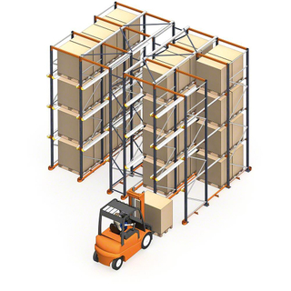 Height 8000mm Adjustable Warehouse Steel Pallet Racking