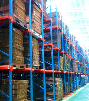 Cold Rolled Warehouse Storage Professional Drive In Racking