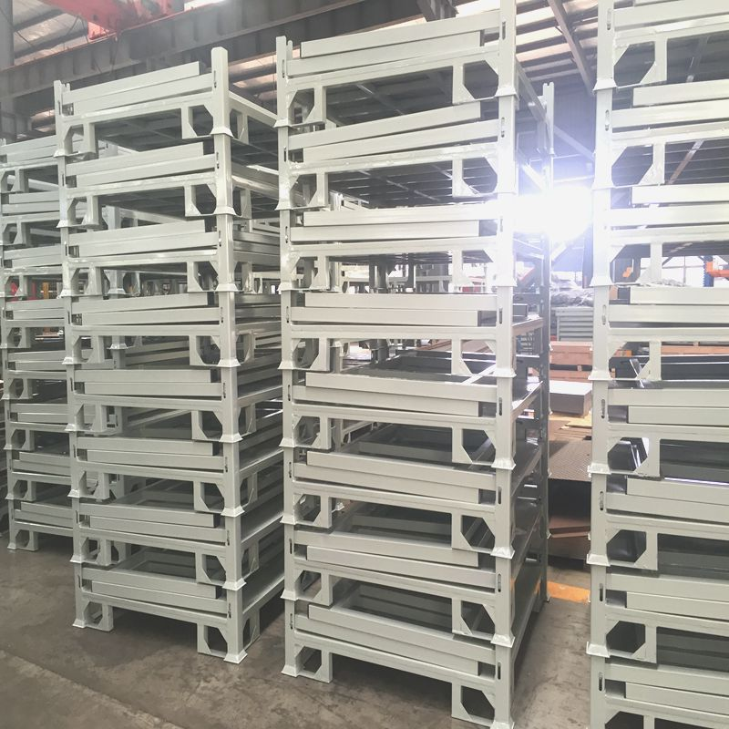 Jiangsu Union Warehouse Steel Storage Stackable And Foldable Rack