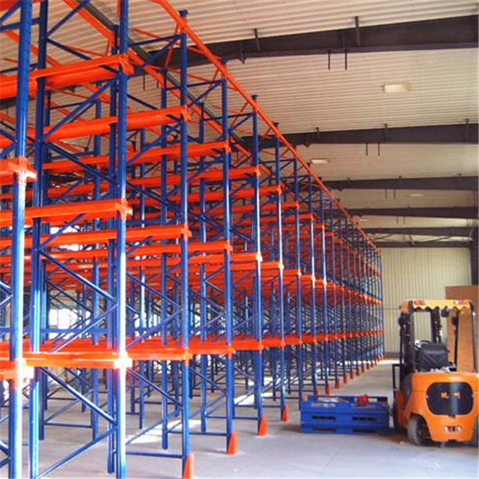 Warehouse Storage Heavy Duty Collapsible Drive In Rack