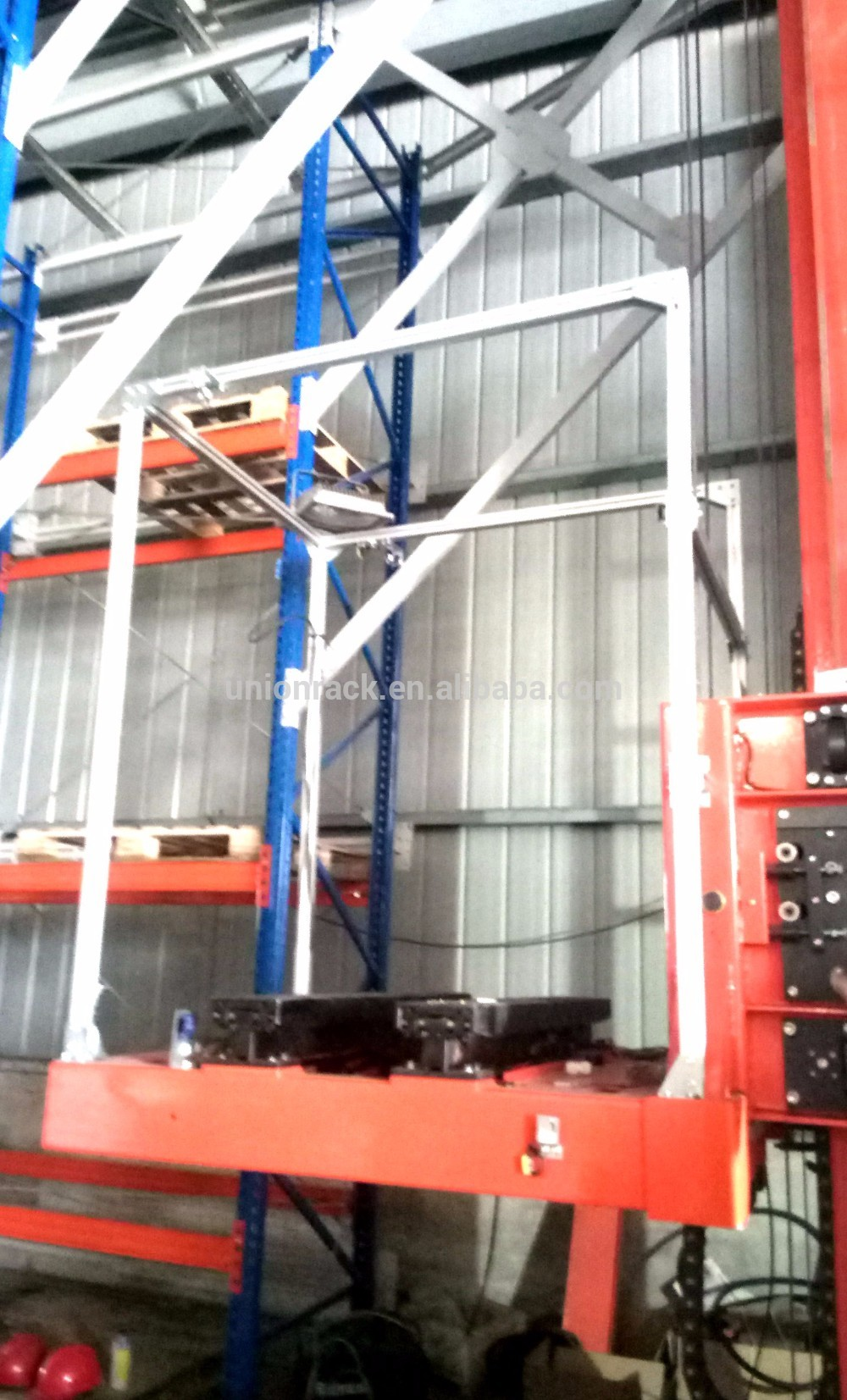 Manufacture Provide Directly Warehouse Automatic Storage ASRS Rack System