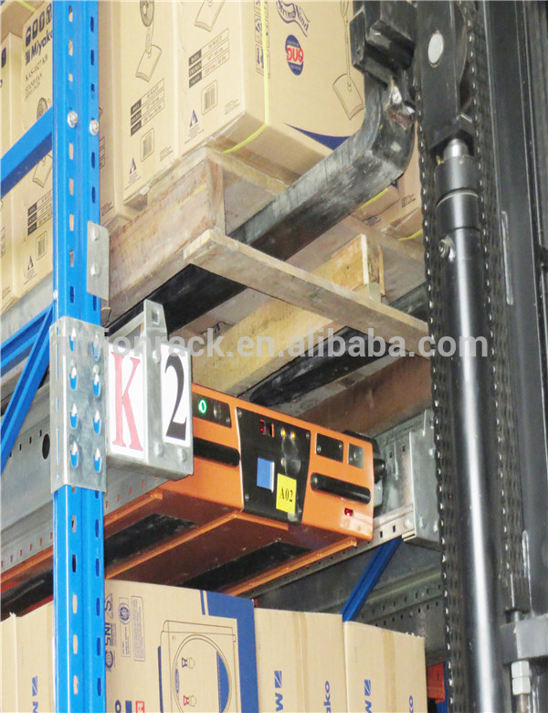 High Accessing Rate High Load Capacity Massive Storage Radio Shuttle Rack