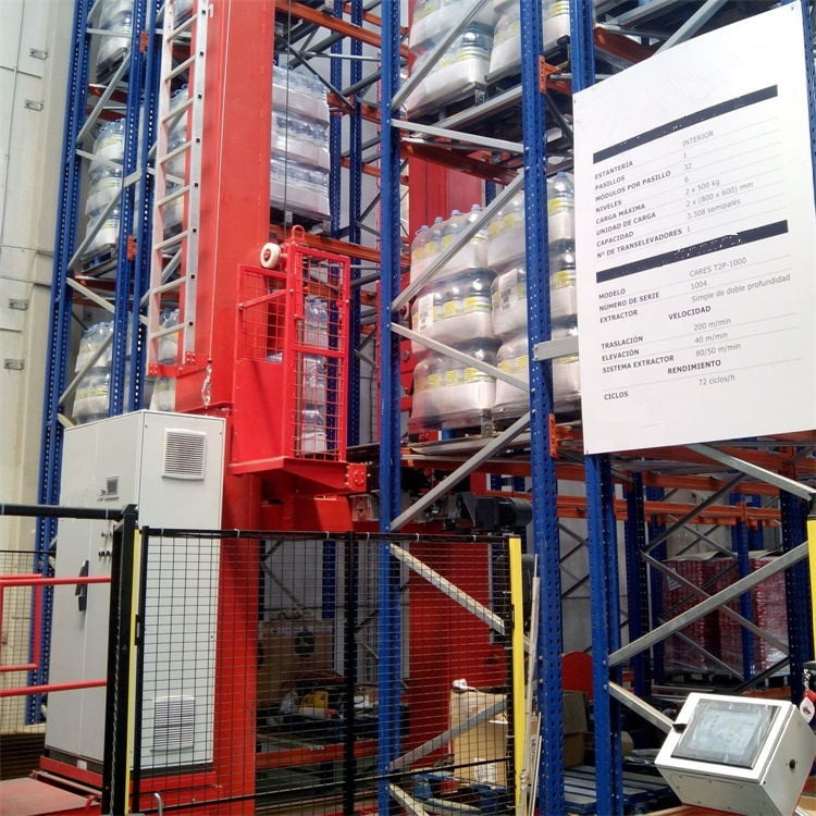 Heavy Duty ASRS Automated Storage And Retrieval System