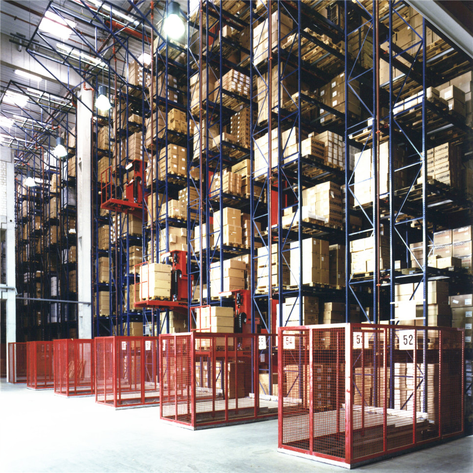 Rack supported Automated warehouse racking system