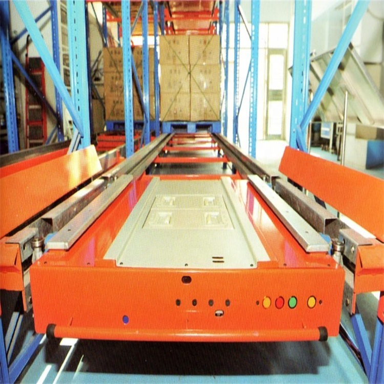 Adjustable Steel Radio Shuttle Pallet Runner Cold Storage System