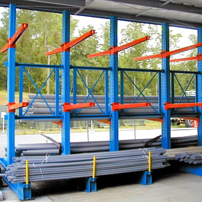 Construction Long Items Storage Cantilever Racking System