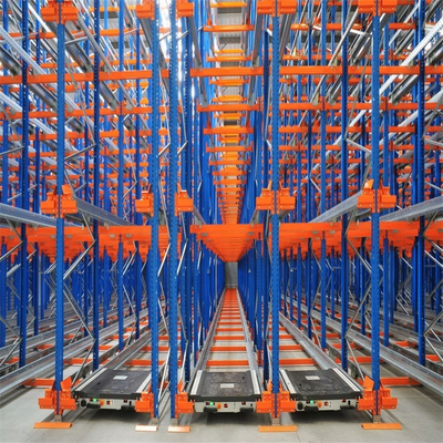 Automated FIFO Radio Shuttle Racking Controlled By Remote