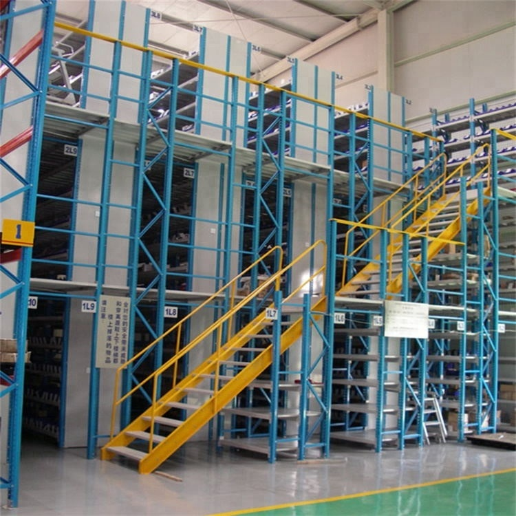 High Capacity Storage Metal Warehouse Multi Tier Mezzanine Rack System