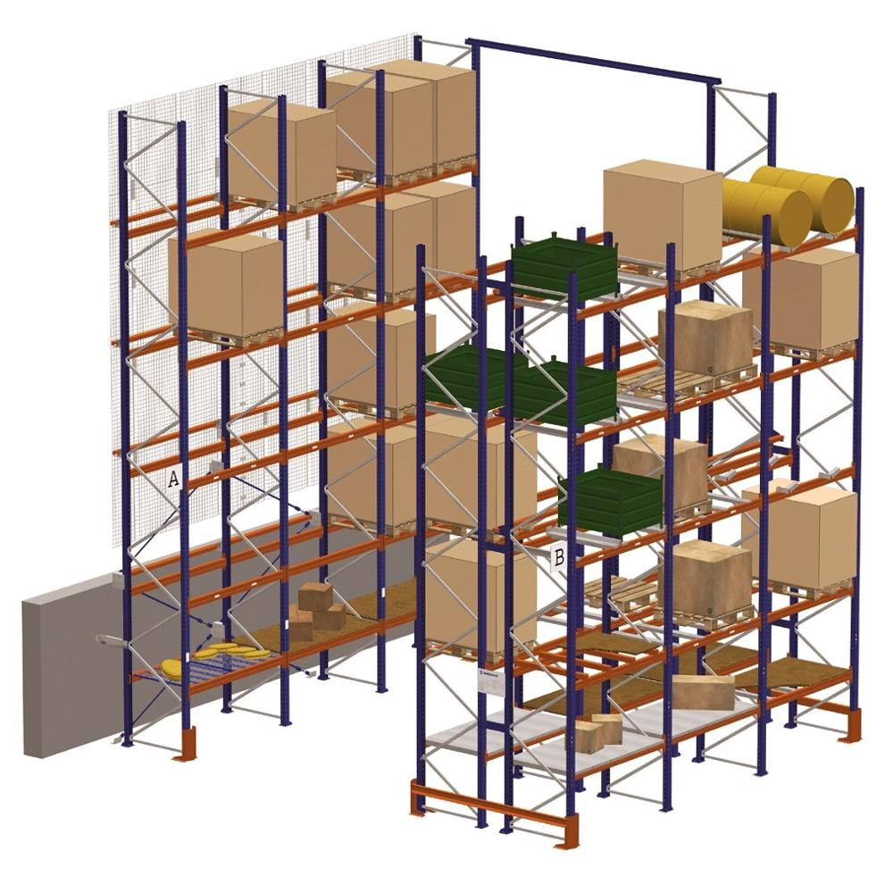 Jiangsu Union Heavy Duty warehouse steel stacking rack with CE