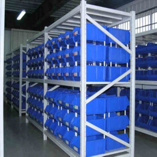 Industrial Warehouse Storage System Adjustable Q235 Steel Medium Duty Long Span Shelving