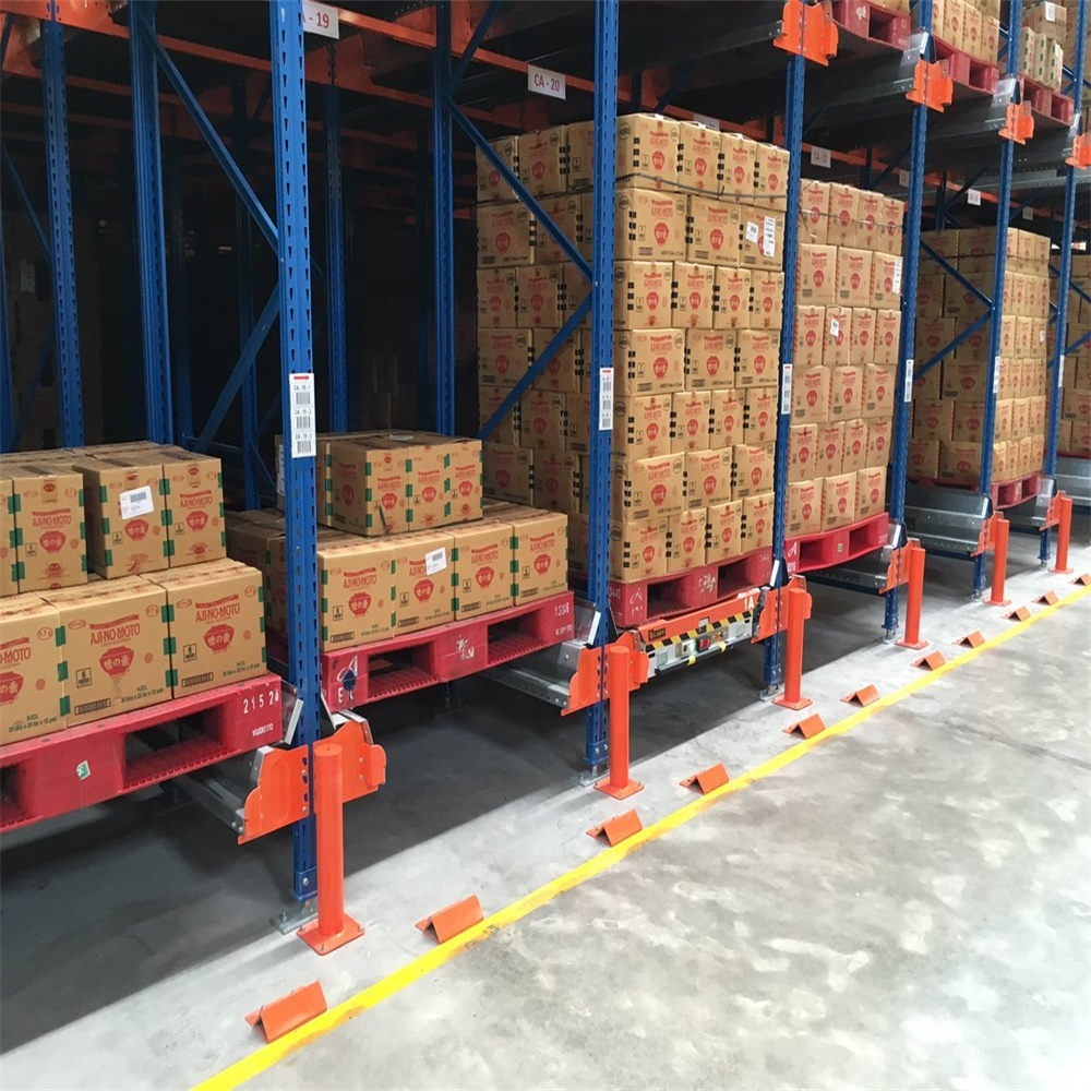 Quality Guaranteed Automated Pallet Storage System Metal Radio Shuttle Rack
