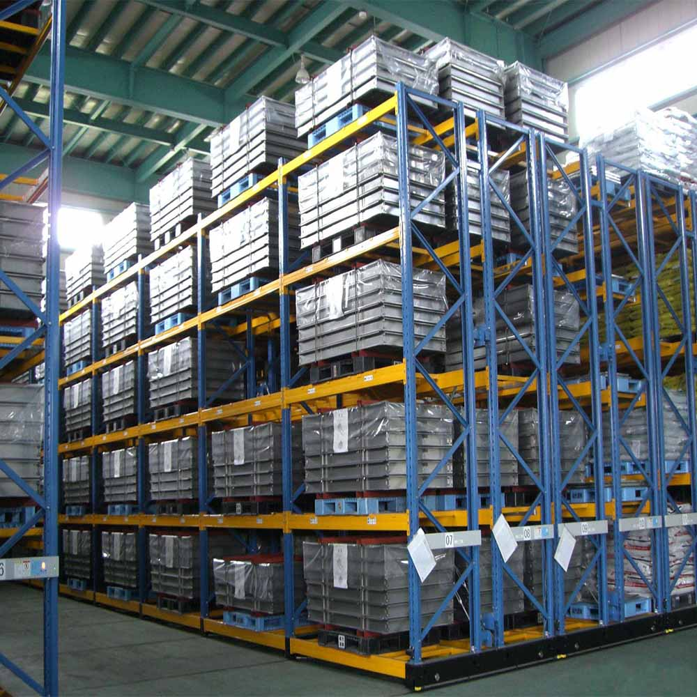 Jiangsu Union Heavy Duty Adjustable Steel Shelving Storage Pallet Rack with CE