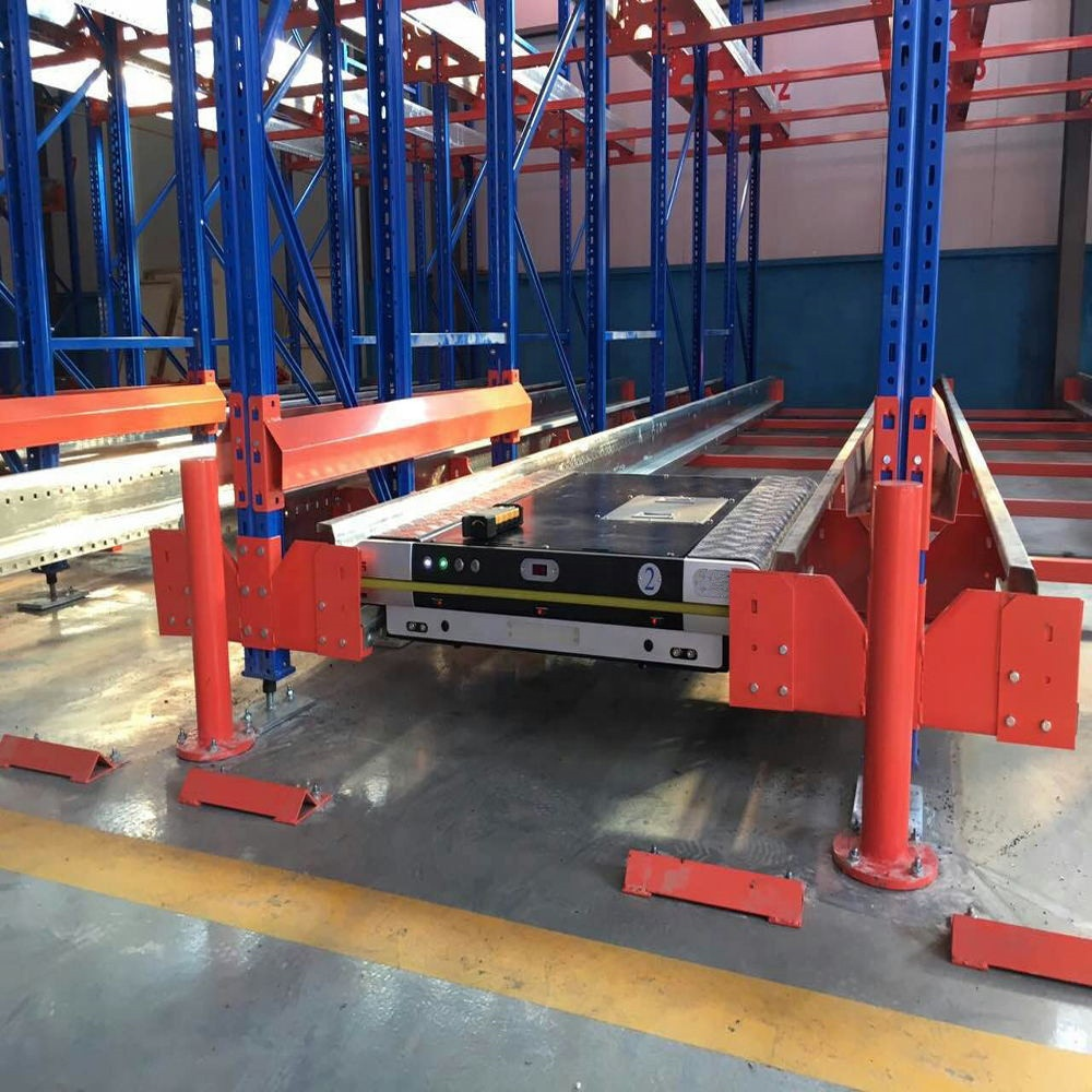 High Speed Heavy Duty FIFO Automated Radio Shuttle Rack